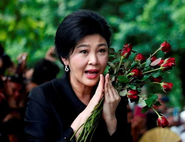 Police search convicted PM Yingluck's home