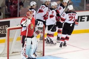 Zacha, Quenneville, Stafford score twice to lead Devils over Sens in pre-season