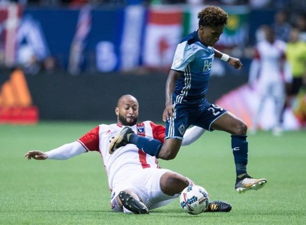 Vancouver Whitecaps vs. San Jose Earthquakes in MLS Cup Playoffs