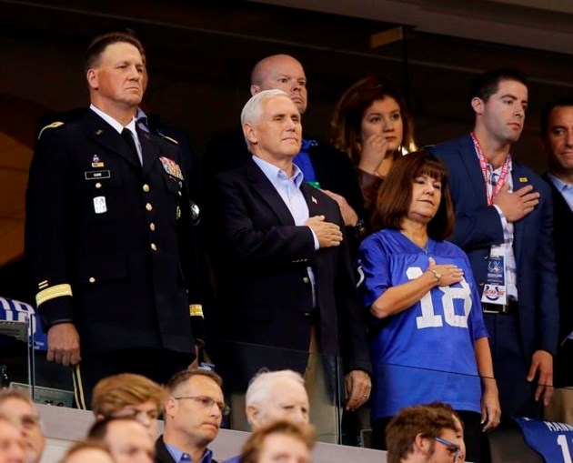 Trump Says VP 'Long Planned' Attending 49ers-Colts Game He Left