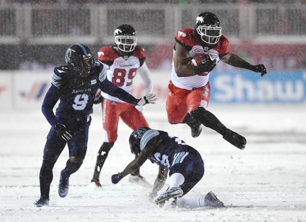 Image result for 105th grey cup snow