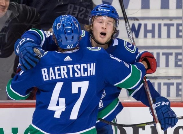 VANCOUVER — Travis Green pulled Brock Boeser aside at the Vancouver  Canucks  development camp in early July for a frank and honest discussion. 9c02f12d8
