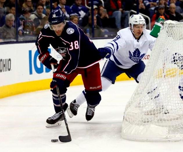 Joonas Korpisalo Blue Jackets Beat Maple Leafs 4 2