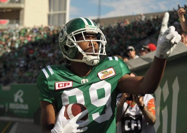 Duron Carter staying in Riderville for another season