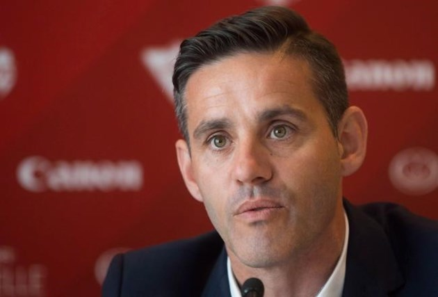 John Herdman takes over Canadian men's soccer program