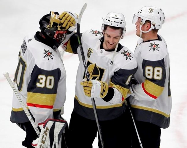 Golden Knights Edge Blackhawks 5 4 For 9th Win In 10 Games 806214
