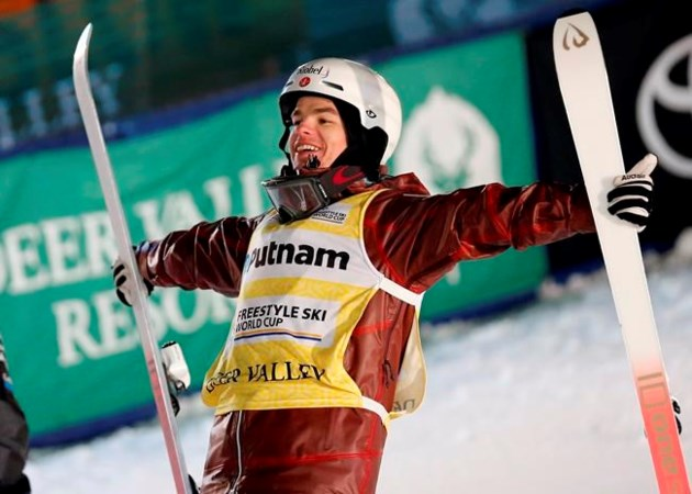 Image Result For Canadian Mikael Kingsbury Sets Moguls Record With Win