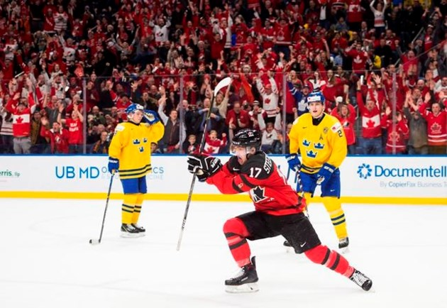 Golden Goal Steenbergen Lifts Canada Over Sweden For World Junior