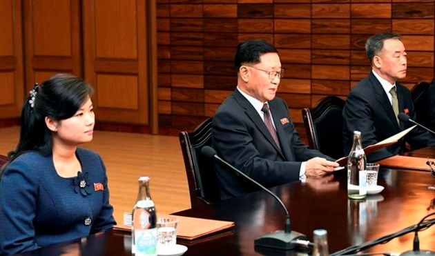 N.Korean delegation in Switzerland for International Olympic Committee  talks