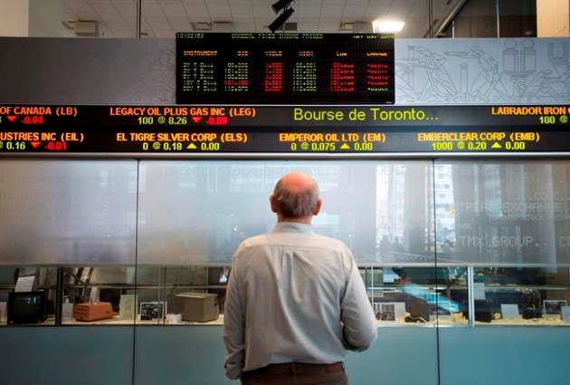 TSX rebounds after posting triple-digit drop in early trading