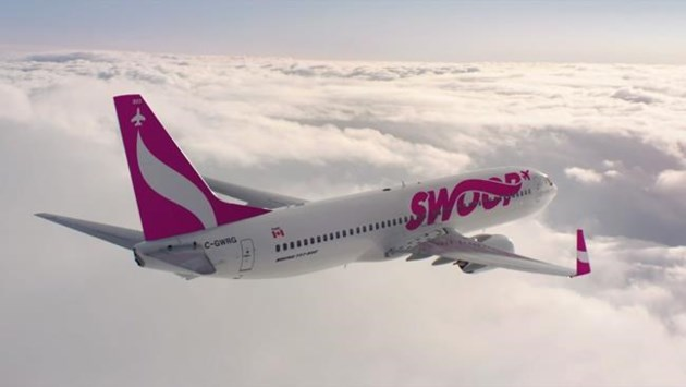 WestJet's discount carrier Swoop to launch June 20