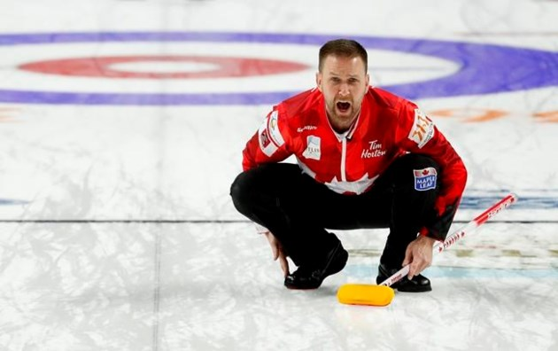 Canada's Gushue a win away from world men's curling championship repeat