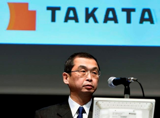 Airbag-Maker Takata Brand Disappears as CEO Quits