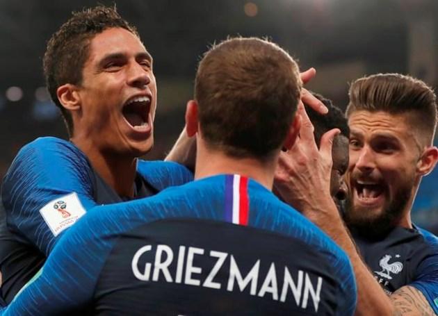 72139ba9f8e Vive la France  Les Bleus advance to World Cup final ...