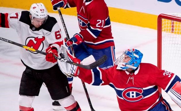 official photos 7a781 8c8a7 Kotkaniemi scores in Habs debut, Montreal beats Devils 3-1 ...
