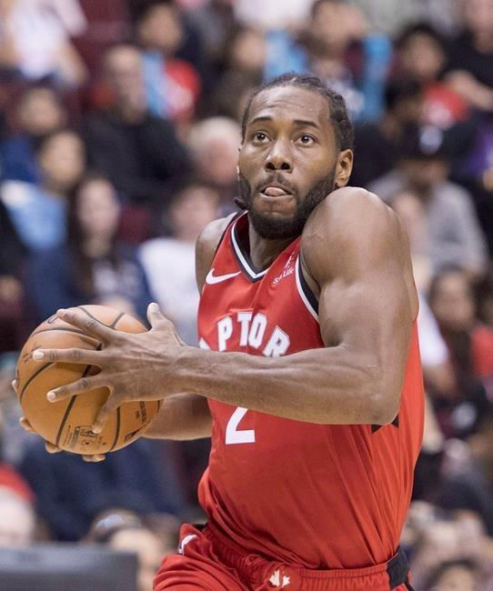 d66b0460a Toronto Raptors enter intriguing season with brand new look ...