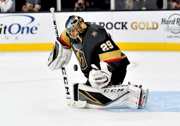 Fleury Ties For 10th In Nhl Wins Vegas Tops Sabres 4 1 Sootoday Com