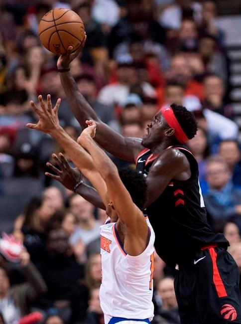 daf83820d Toronto Raptors (12-1) beat Knicks 128-112 to remain undefeated at home