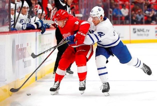 Maple Leafs Recall Trevor Moore From American Hockey League On