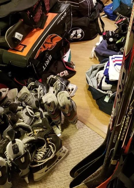 B C Hockey Coach Creates Gear Library To Remove Cost Barrier Of