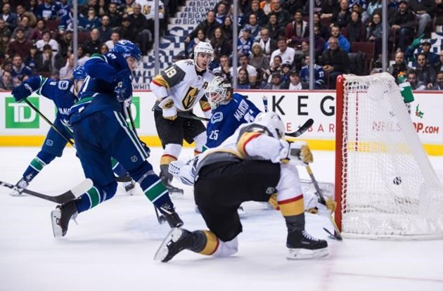 bac5ccad8d7 Max Pacioretty scores twice as Golden Knights best Vancouver Canucks ...