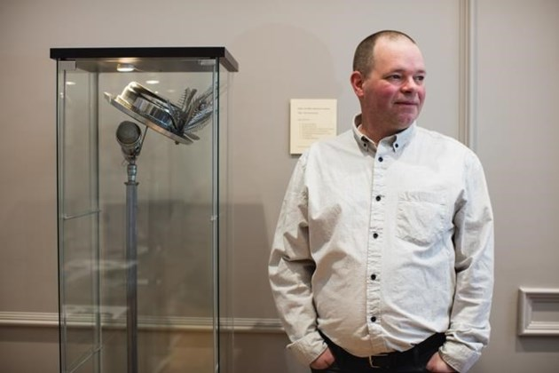 Gord Downie sculpture unveiled at Halifax City Hall's reconciliation space