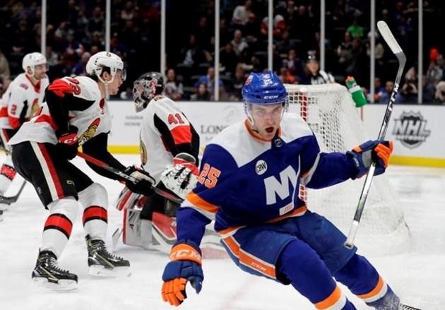 508ec93848a Islanders beat Senators in shootout for Trotz's 800th win. UNIONDALE, N.Y.  ...