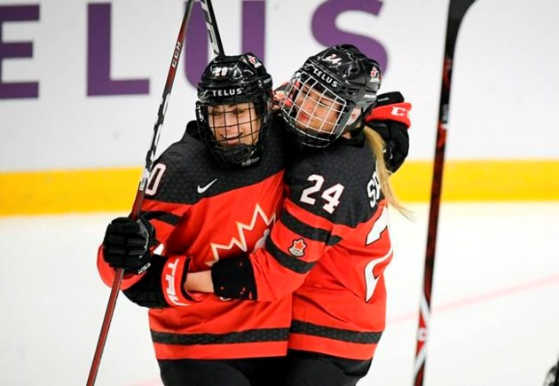Canada Finds Late Gear To Blank Swiss 6 0 At Women S World Hockey