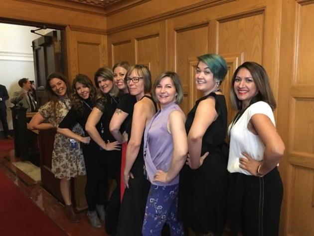 Speaker Issues Update Of Dress Code At B C Legislature Sleeveless