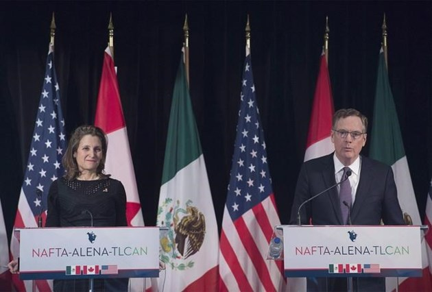 US, Canada and Mexico reached deal to remove steel and aluminum tariffs