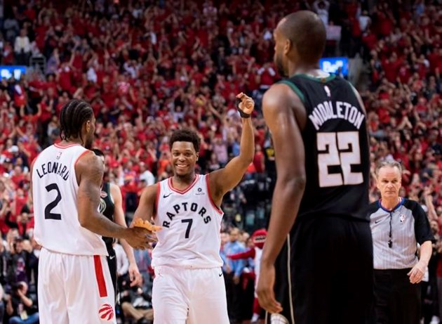 61053047bde A long, twisting path: The Toronto Raptors' road to the NBA Finals ...
