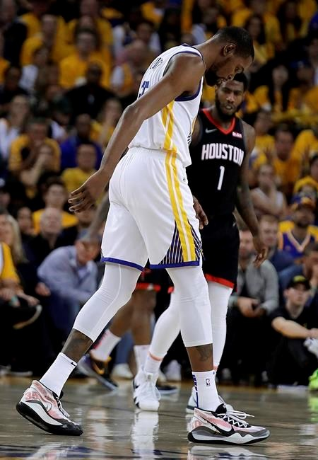 9b55c50aafdf Warriors star Kevin Durant out for rest of West semifinals ...