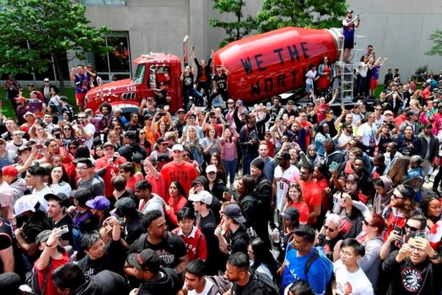 59e4113834a We The North mania spread across Canada as the Toronto Raptors created  history as the first Canadian team to win an NBA championship, and  businesses ...
