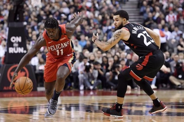 Christmas Day Nba Games 2019.Raptors Open Nba Season Against Pelicans Will Also Play