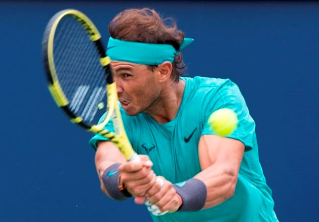 Defending champ Nadal beats Pella to enter Rogers Cup quarters