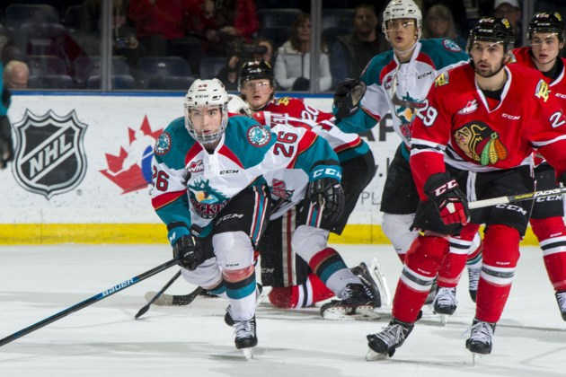 Kelowna Rockets Hang On To Final Spot In B C Division After Loss To