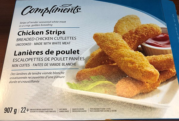 2019-05-24 Compliments chicken strips recall