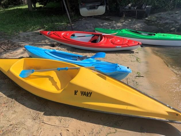 2019-08-01goodmorningnorthbaybct  4  Kayak armada. Photo by Brenda Turl for BayToday.