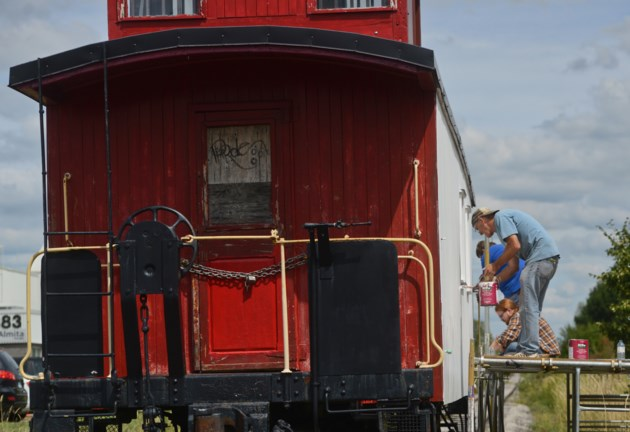 Guelph Rail Safety Day features tours of 1928 caboose