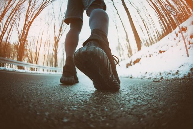 feet running stock