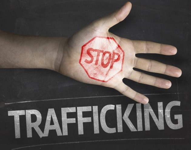 human trafficking stock