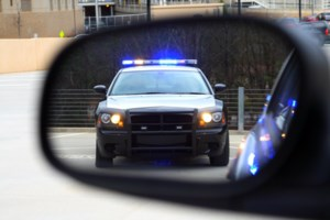 Vehicle drives through RIDE check, charges follow