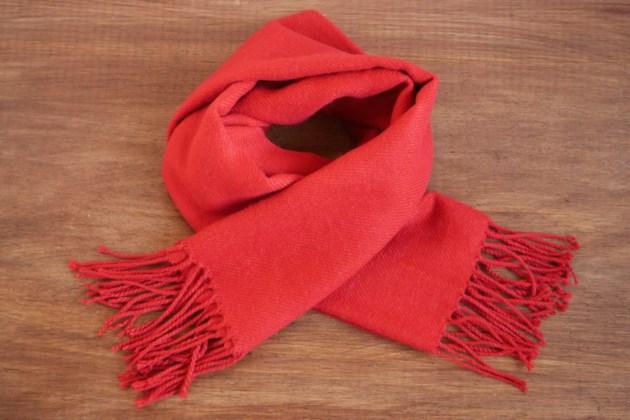 red scarf AdobeStock