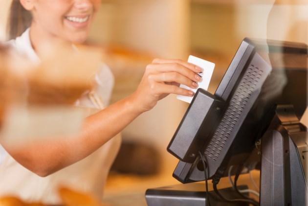 retail shopping debit credit stock