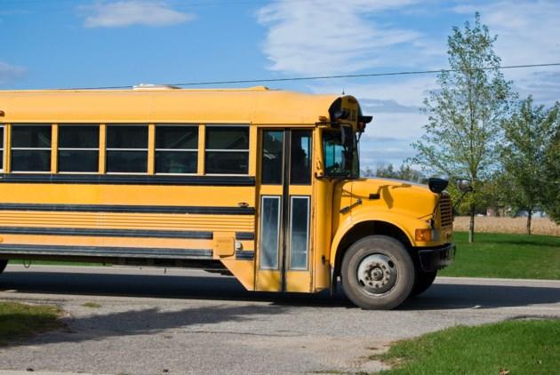 SchoolBusDriveway