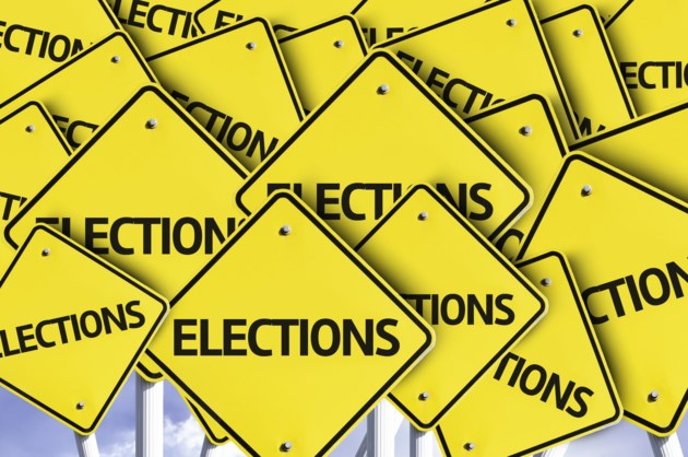 signs election stock