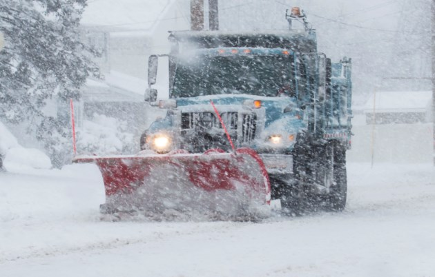 SnowplowingDumptruck