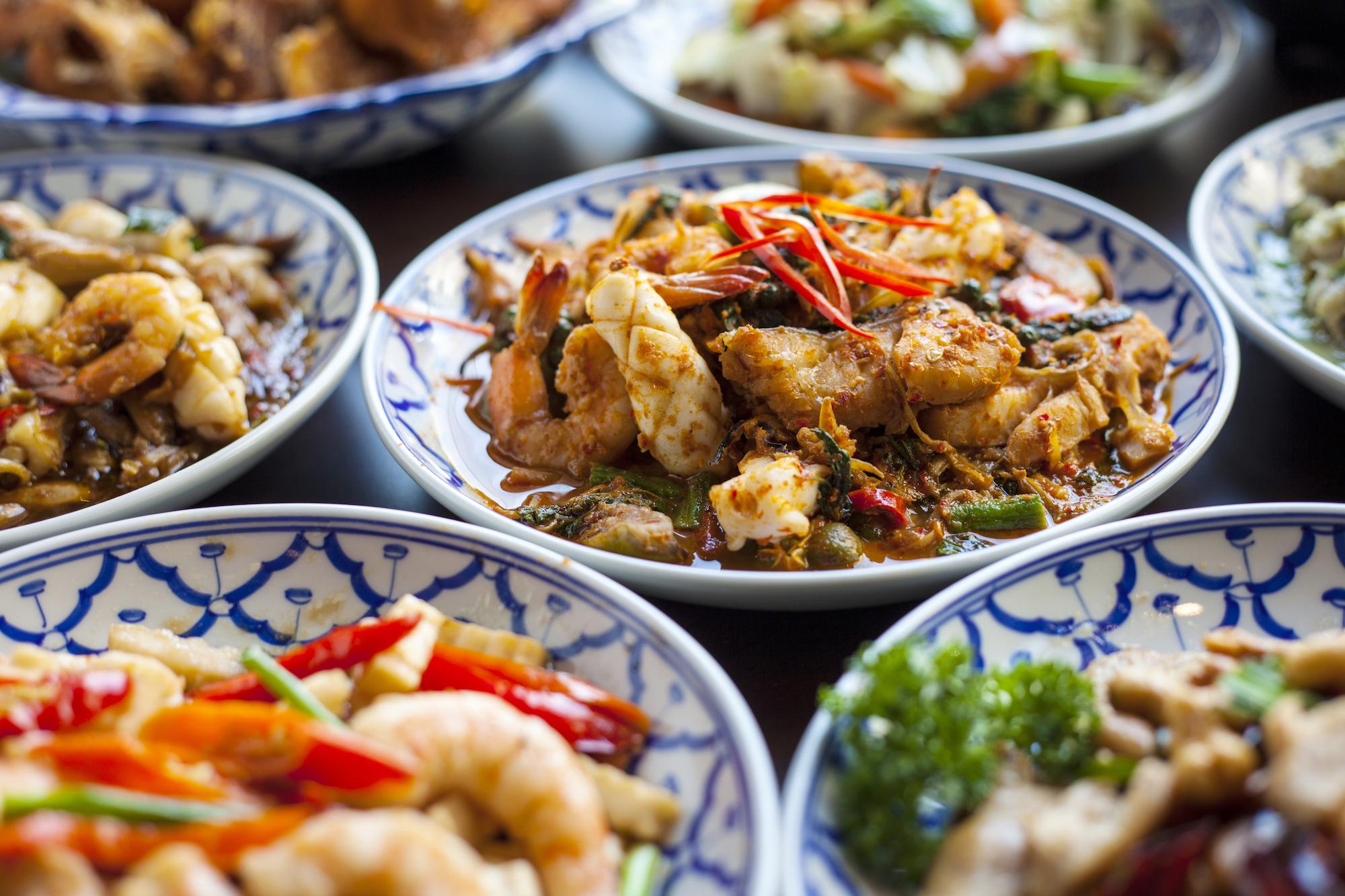 Asian cuisine southeast