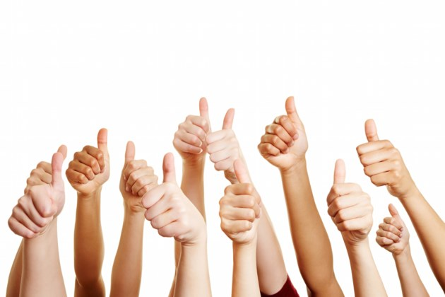 thumbs up shutterstock