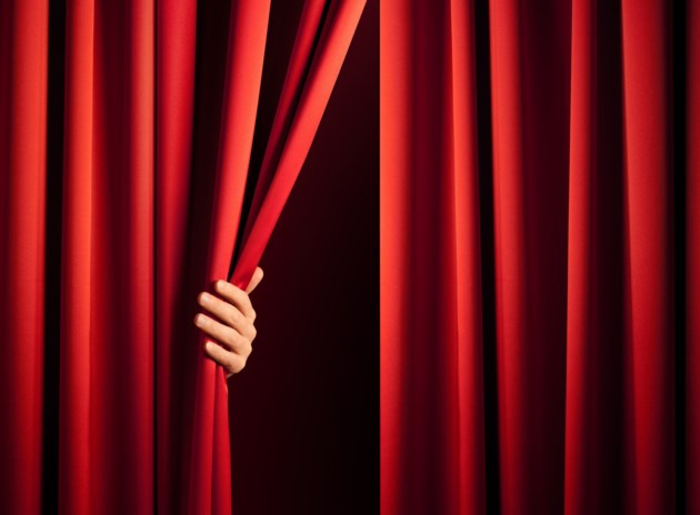 unveiling stock curtains